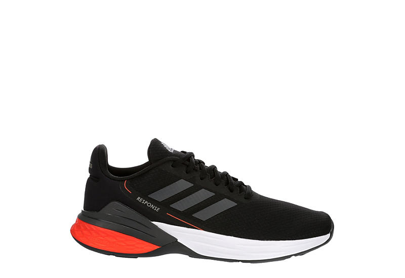 Adidas Mens Response Sr Running Shoe - Black
