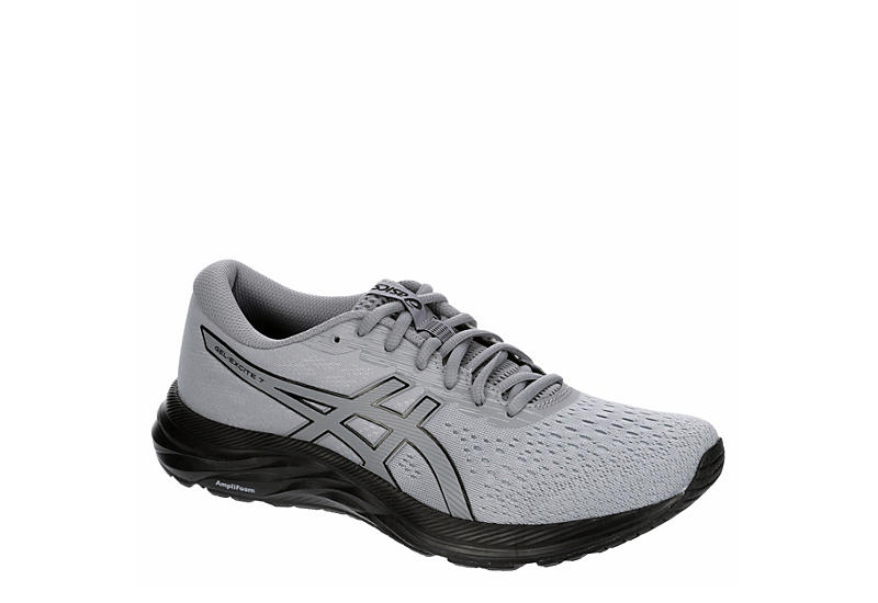 GREY ASICS Mens Gel Excite 7 Running Shoe