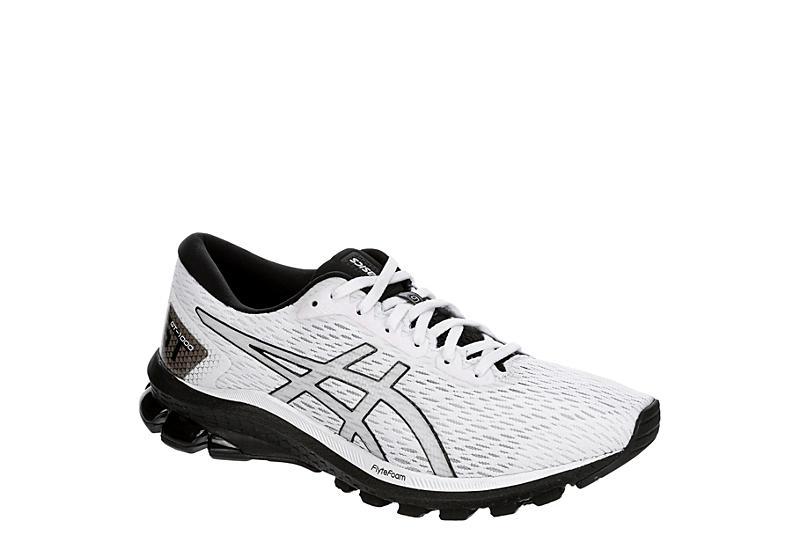 WHITE ASICS Mens Gt 1000 9 Running Shoe