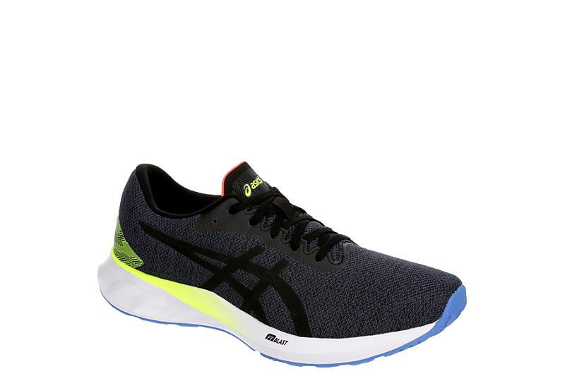 DARK GREY ASICS Mens Roadblast Running Shoe