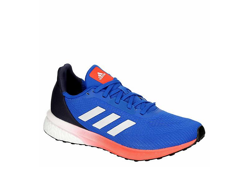 BLUE ADIDAS Mens Astrarun Boost Running Shoe