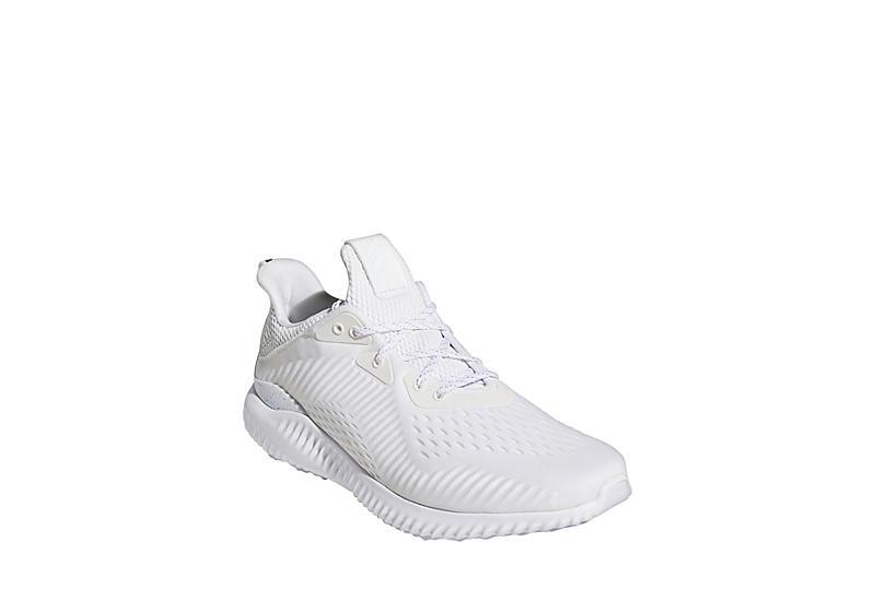 WHITE ADIDAS Mens Alphabounce Running Shoe