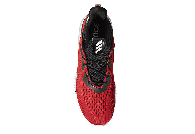 Adidas Mens Alphabounce Running Shoe - Red