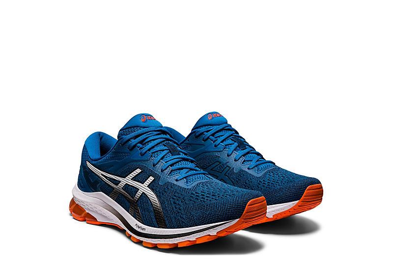 BLUE ASICS Mens Gt 1000 10 Running Shoe