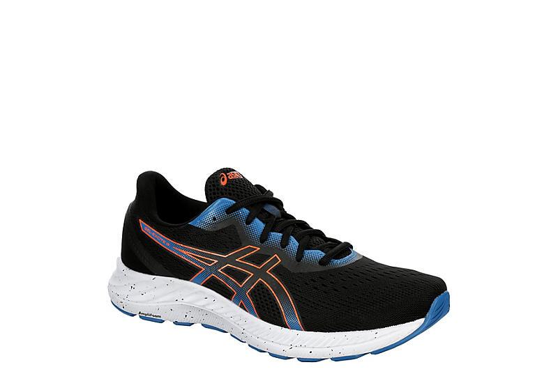 BLACK ASICS Mens Gel Excite 8 Running Shoe