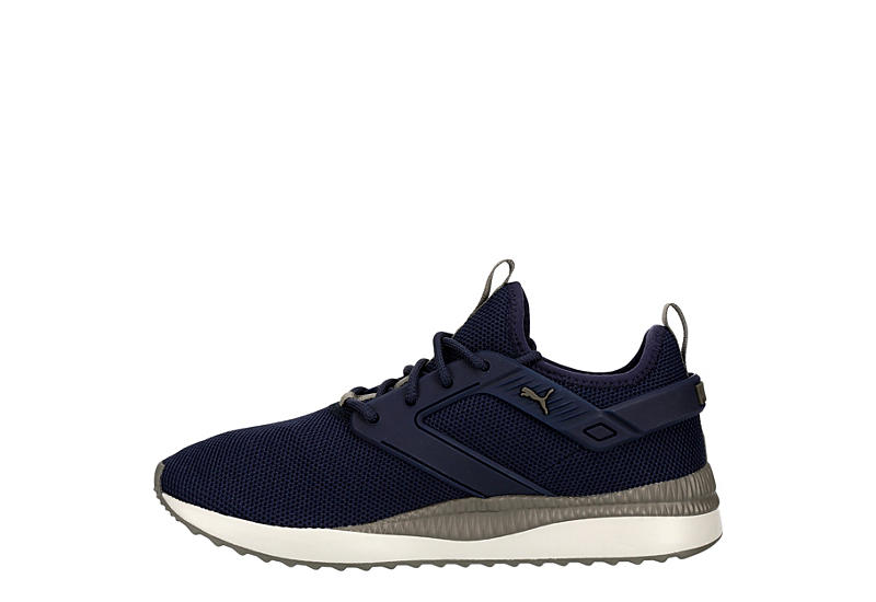 PUMA Mens Pacer Next Cage 2 Sneaker - NAVY
