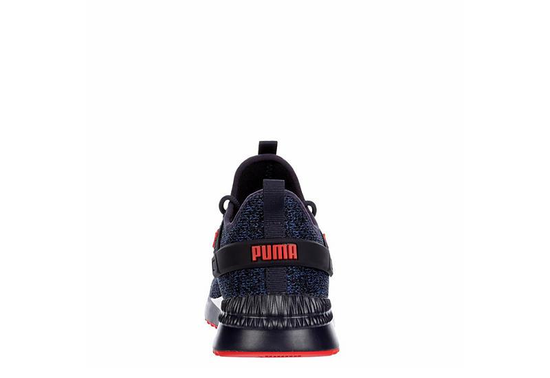 PUMA Mens Pacer Next Cage 2 Sneaker - DARK BLUE