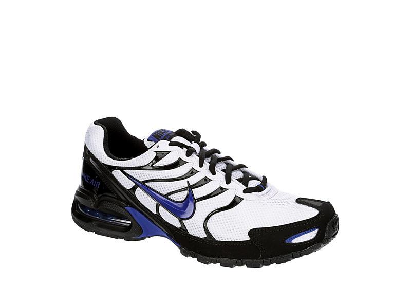 WHITE NIKE Mens Air Max Torch 4 Sneaker