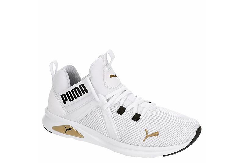 PUMA Mens Enzo 2 Sneaker - WHITE