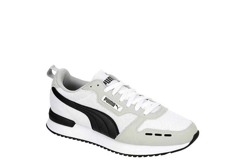 WHITE PUMA Mens R78 Sneaker