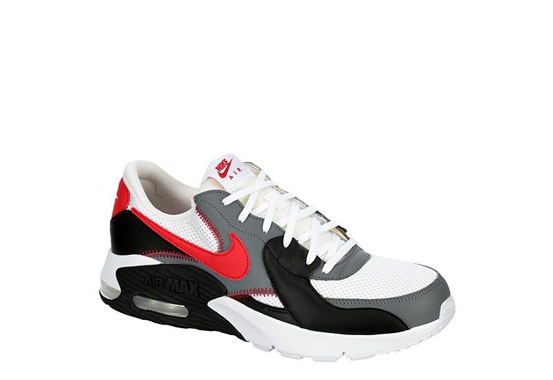 WHITE NIKE Mens Air Max Excee Sneaker