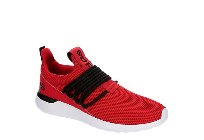 RED ADIDAS Mens Lite Racer Adapt 3 Sneaker