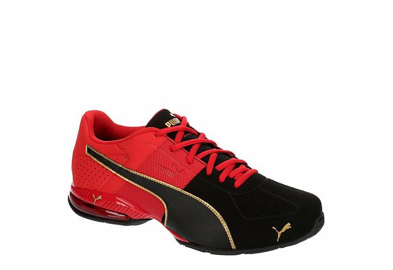 RED PUMA Mens Cell Surin 2 Sneaker