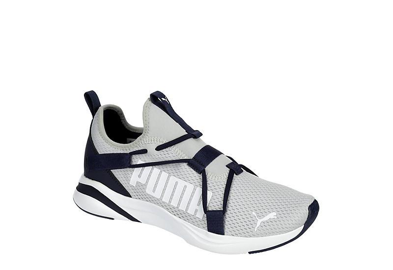 GREY PUMA Mens Softride Rift Slip On Sneaker