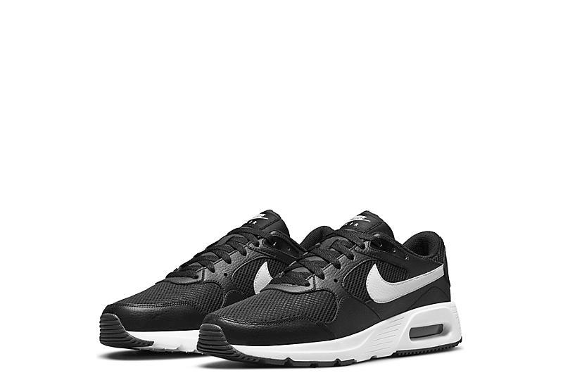 BLACK NIKE Mens Air Max Sc Sneaker