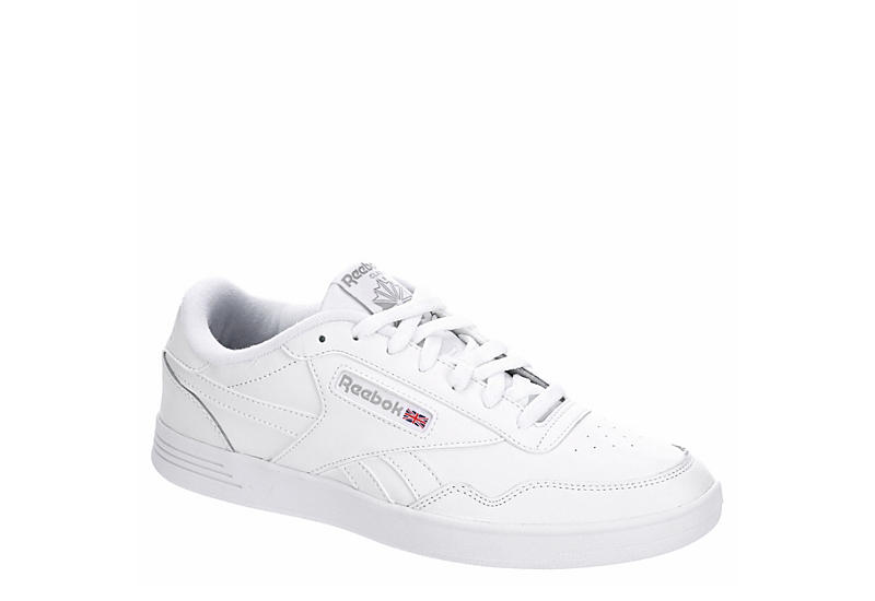 WHITE REEBOK Mens Club Memt