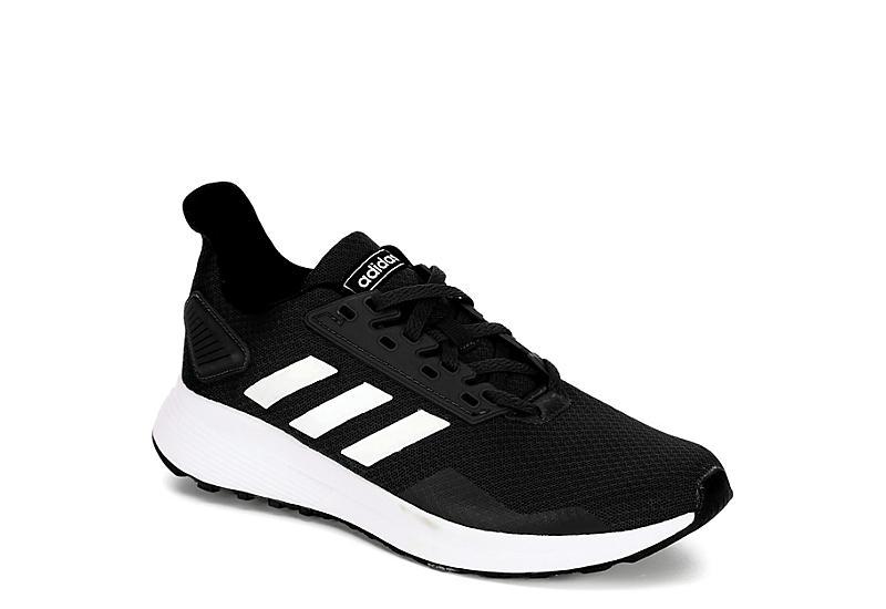 BLACK ADIDAS Boys Duramo 9 Sneaker