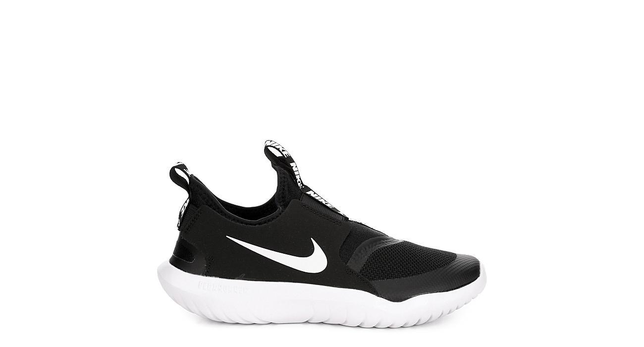 NIKE Boys Flex Runner Slip On Sneaker - BLACK