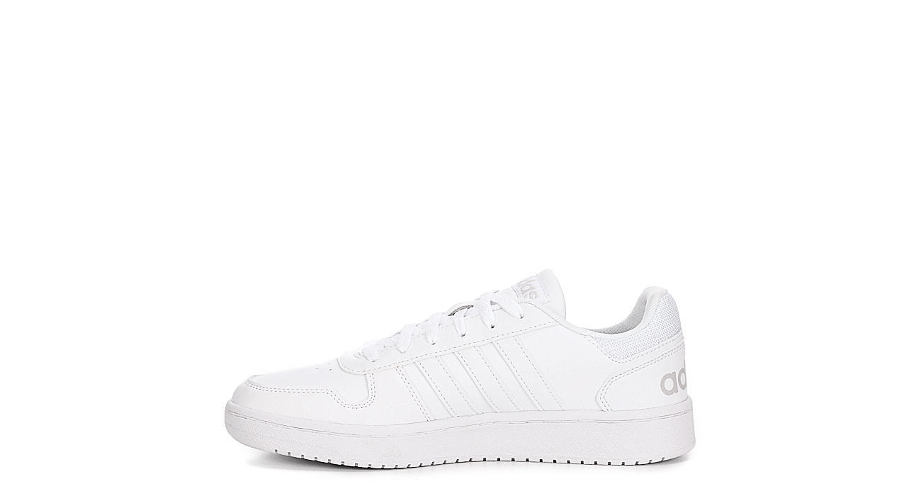 ADIDAS Mens Hoops 2.0 Low - WHITE