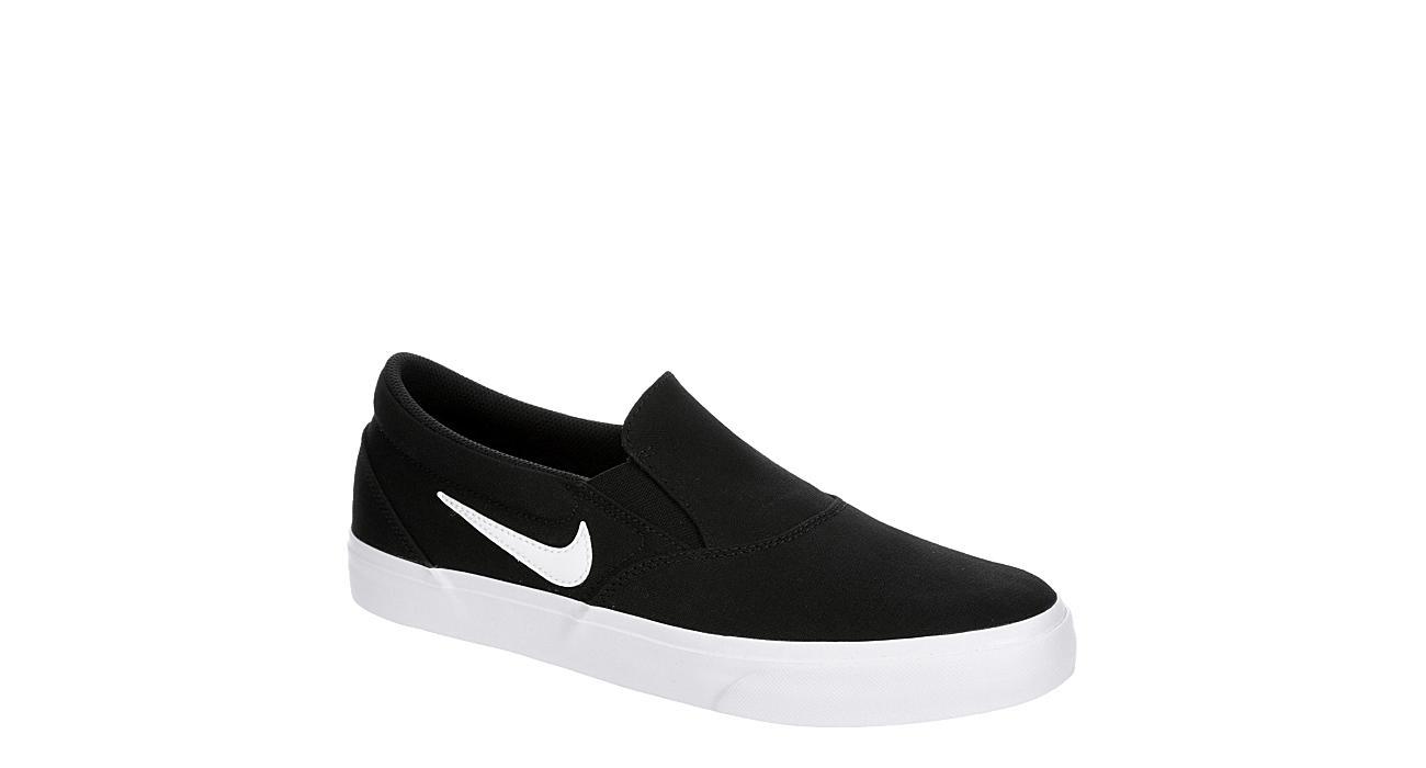 NIKE Mens Sb Charge Slip On Sneaker - BLACK