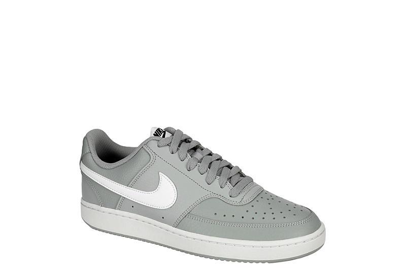 gusano paz Miseria  Grey Nike Mens Court Vision Low Sneaker | 90's Classics | Rack Room Shoes