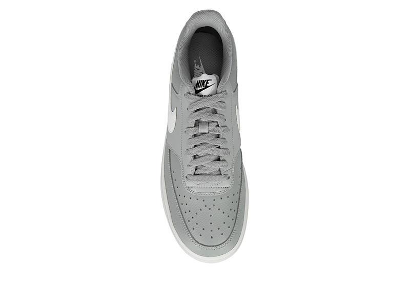 NIKE Mens Court Vision Sneaker - GREY