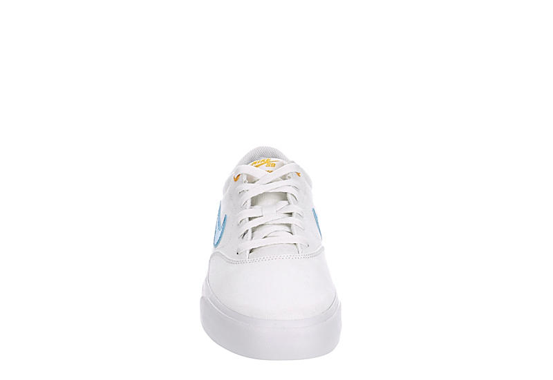 NIKE Mens Sb Charge Sneaker - WHITE