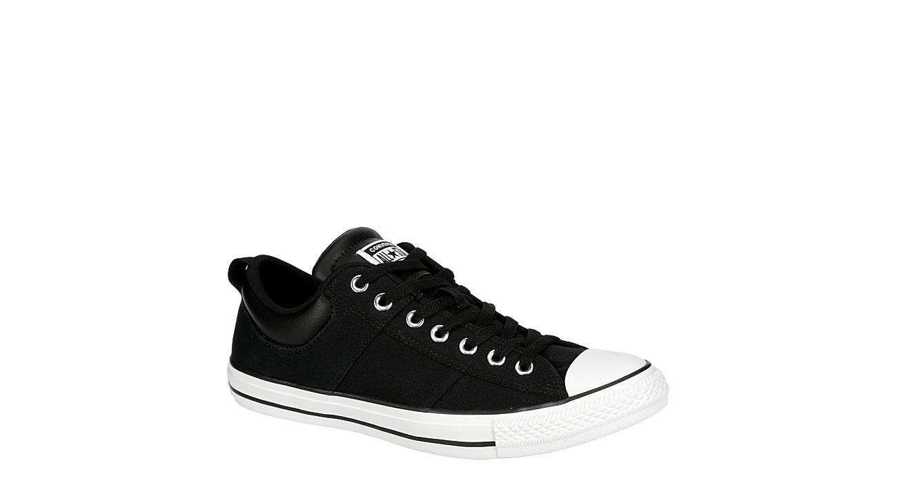 CONVERSE Mens Chuck Taylor All Star Ox Sneaker - BLACK