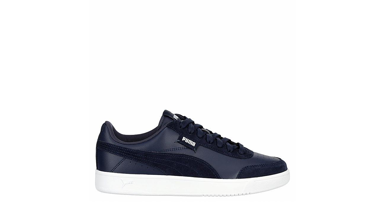 Puma Mens Court Legend Low Sneaker - Navy
