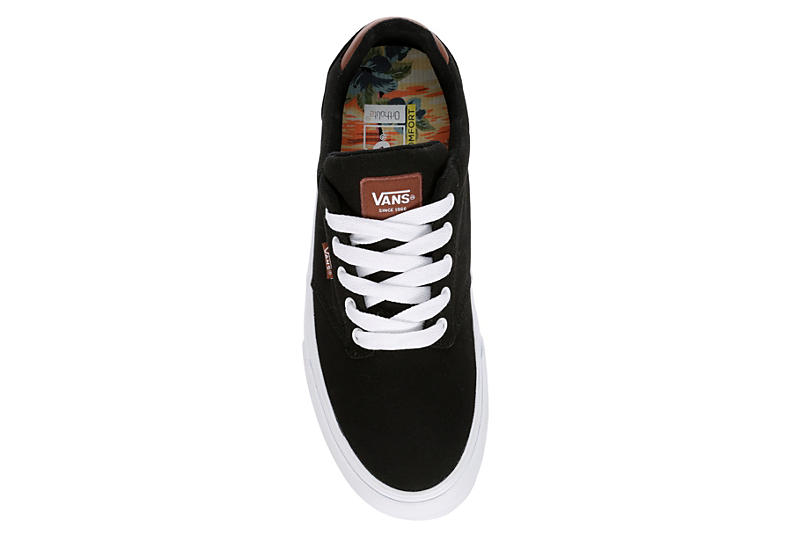 Vans Mens Atwood Deluxe Sneaker - Black