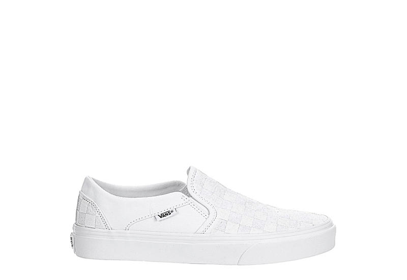 VANS Mens Vans Asher Check - WHITE