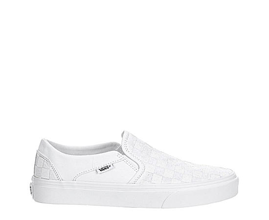 Mens Vans Asher Check Sneaker