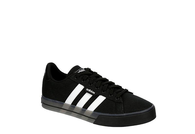 BLACK ADIDAS Mens Daily 3.0 Sneaker