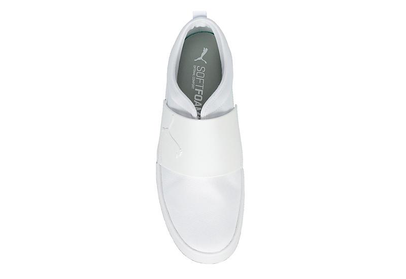 PUMA Mens El Rey Slip On Sneaker - WHITE