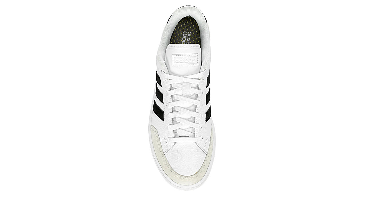 White Adidas Mens Grand Court Se Sneaker | Athletic | Rack Room Shoes