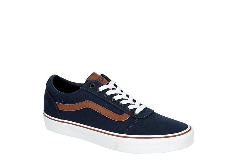 VANS Mens Vans Ward Sneaker - NAVY
