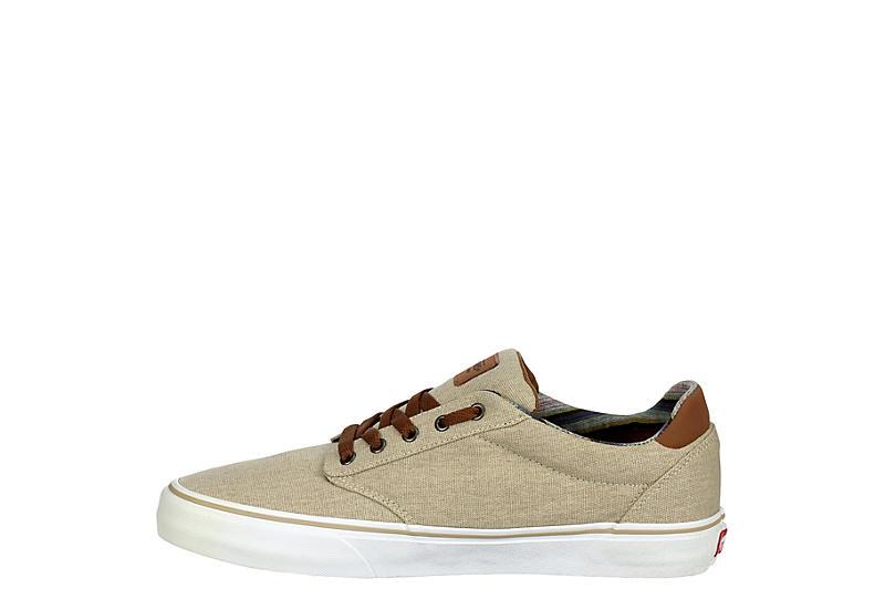 Vans Mens Atwood Deluxe Sneaker - Beige