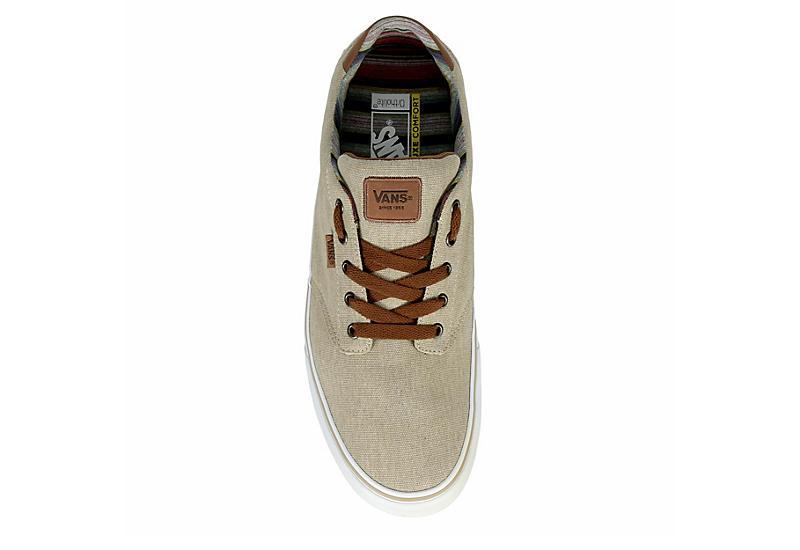 Beige Vans Mens Atwood Deluxe Sneaker | Athletic | Rack Room Shoes