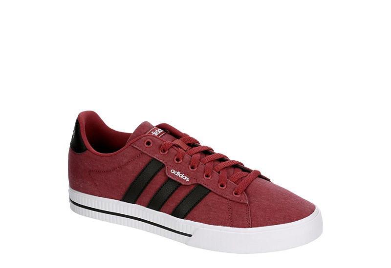 RED ADIDAS Mens Daily 3.0 Sneaker