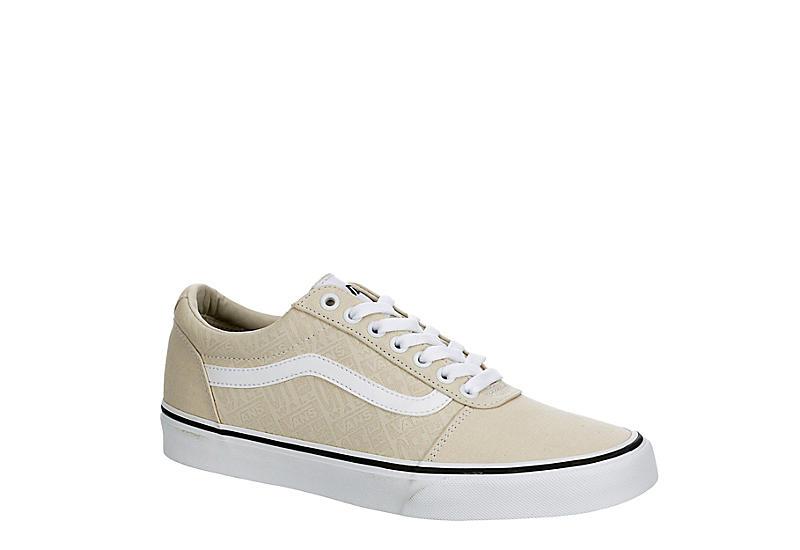 BEIGE VANS Mens Ward Sneaker