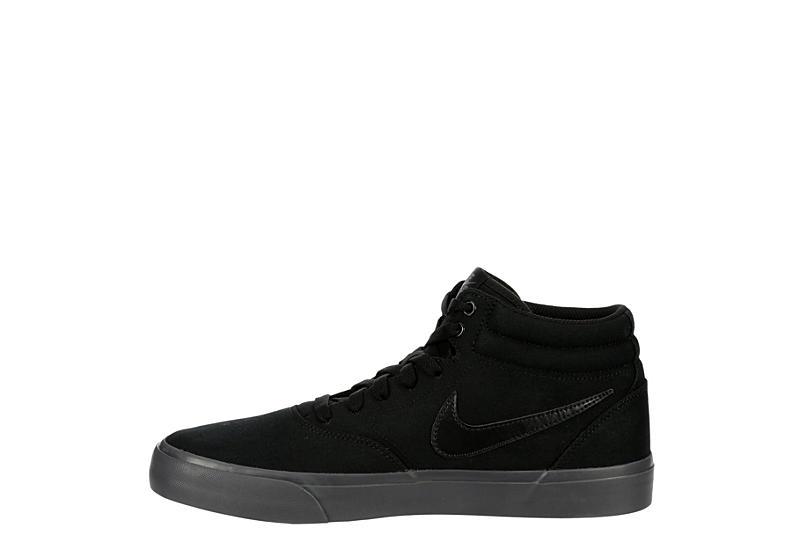 NIKE Mens Sb Charge Mid Sneaker - BLACK
