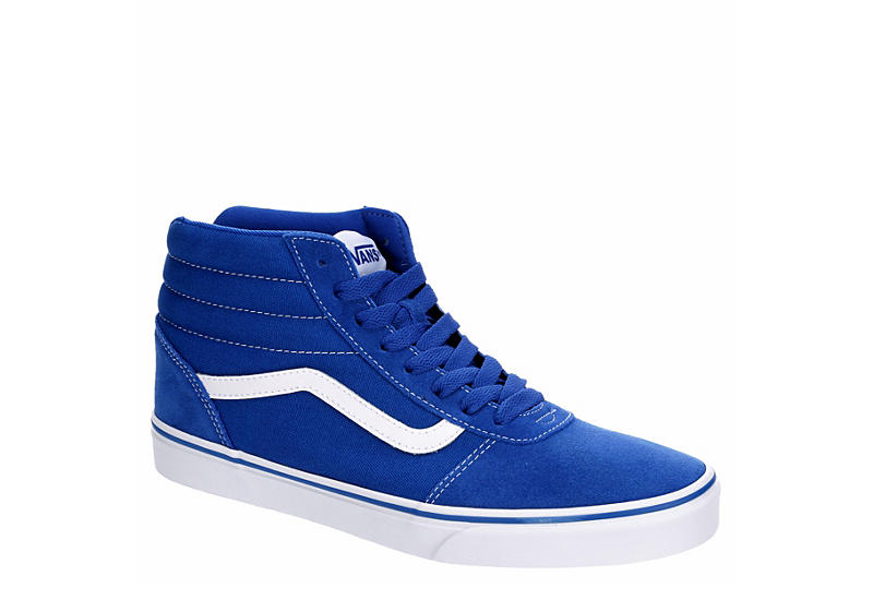 disposto Borsa di studio fiume  Blue Vans Mens Vans Ward Hi Mid Sneaker   Athletic   Rack Room Shoes