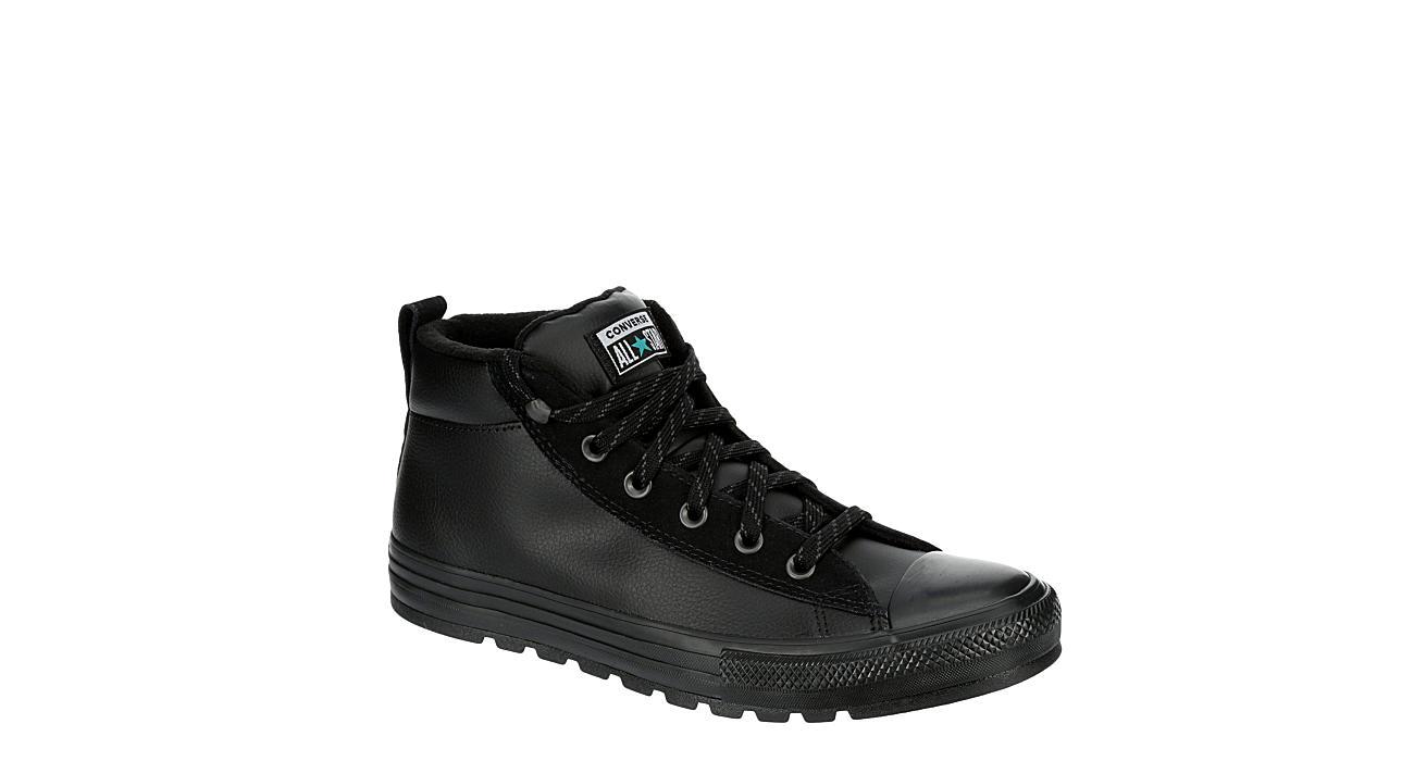 Converse Mens Chuck Taylor All Star Sneaker Boot - Black