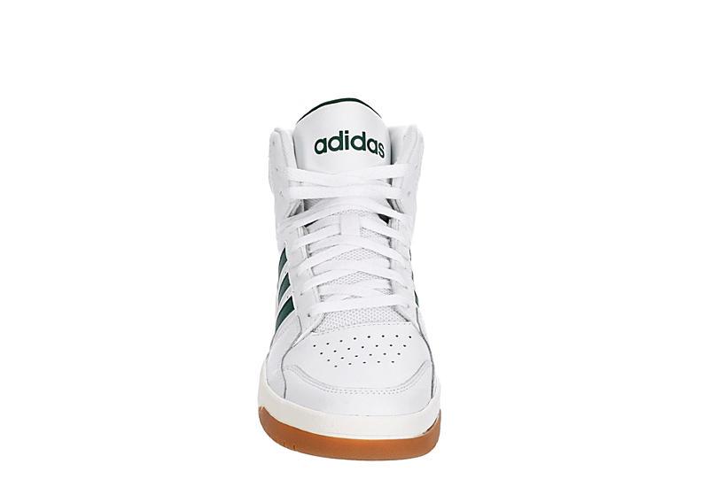 ADIDAS Mens Entrap Mid Sneaker - WHITE