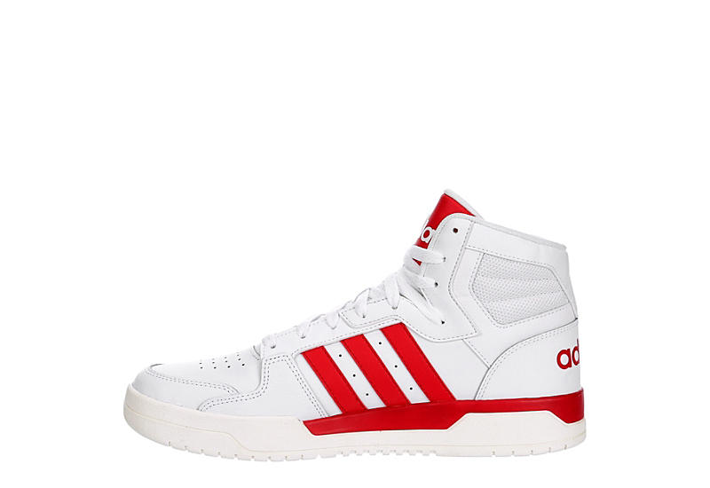 ADIDAS Mens Entrap Mid Sneaker - WHITE