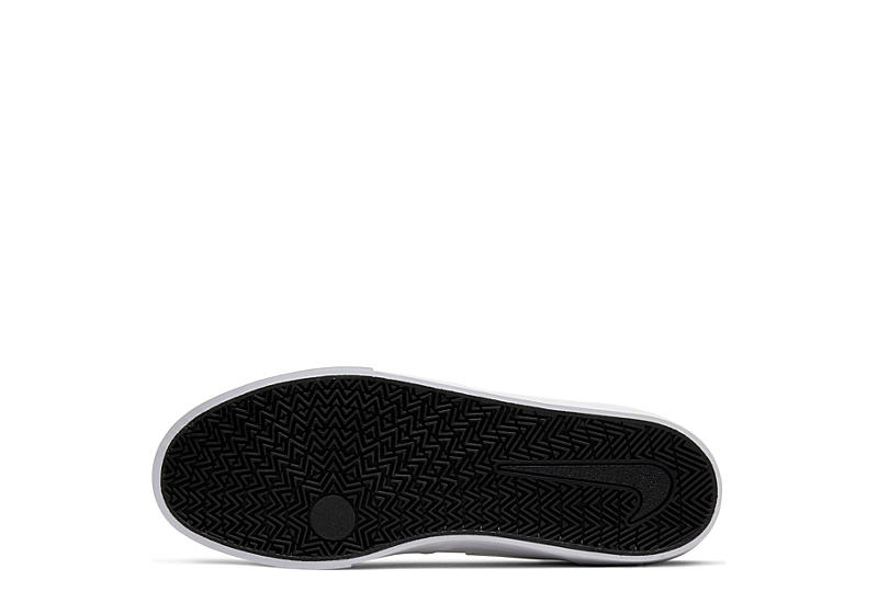 NIKE Mens Sb Charge Mid Sneaker - WHITE