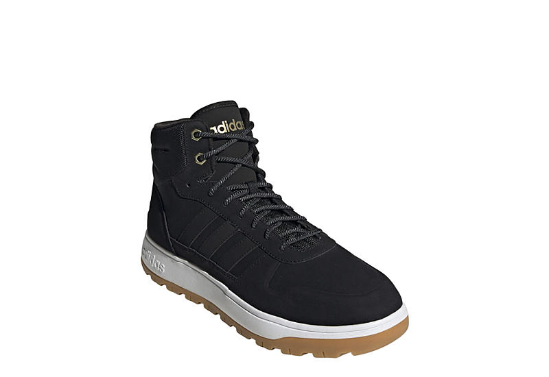 BLACK ADIDAS Mens Frozetic Sneaker Boot