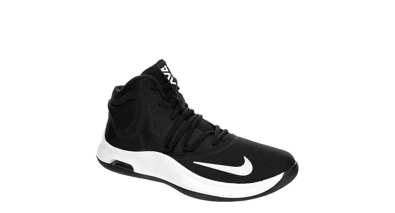 Black High Top Basketball Shoes