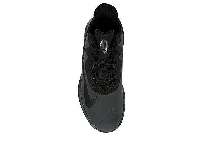NIKE Mens Percision 4 High Top Basketball Shoe - BLACK