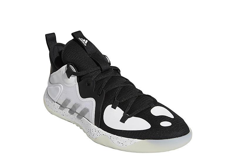 Black Adidas Mens Harden Stepback 2 Basketball Shoe   Basketball ...